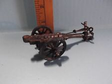 Old Antique Looking Wagon Wheel Cannon Metal/Plastic Pencil Sharpener Cannon