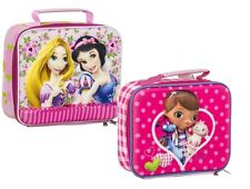 Original Disney 3D School Insulated Lunch Bag Girl Princess or Doc McStuffins