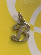 JAMES AVERY LARGE Sterling Silver INITIAL B CHARM