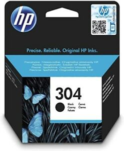 HP 304 Tintenpatrone (Schwarz)