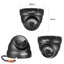 SANNCE 1x 900TVL Outdoor IR CUT Night Vision Security Surveillance CCTV Camera