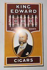 More details for vintage king edward cigars  advertising promotional writing pad tobacciana