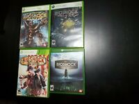 Bioshock 1, 2, Infinite & Collection for Xbox 360/Xbox One ALL COMPLETE! TESTED!