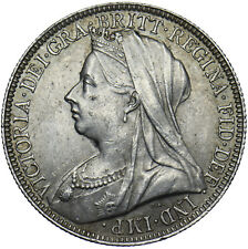 More details for 1897 florin - victoria british silver coin - very nice