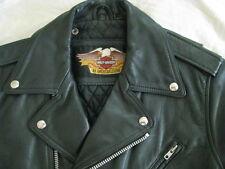 Harley Davidson Motorcycle Leather Jacket H-D Vtg Biker Cycle Champ Mens M 40