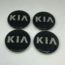 OEM Wheel Center Hub Cap Black 4P 1Set for 2013 2014 Kia Forte : K3