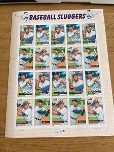USPS Stamps 2005 Baseball Sluggers