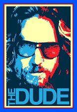 "4"" Funny The Dude vinyl sticker. Big Lebowski movie decal 4 car, laptop, tumbler"