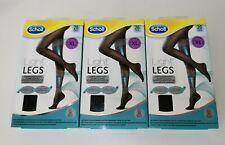 Scholl Light Legs Black Compression Tights 20 Den - Extra Large - 3 Packs