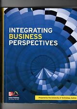 Integrating Business Perspectives UTS Text Book