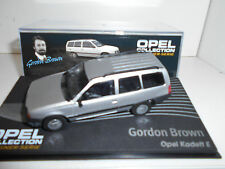 OPEL KADETT E CARAVAN BROWN OPEL COLLECTION EAGLEMOSS IXO 1:43