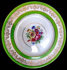 """Rare Antique Hand Painted English Art Nouveau Cauldon China 11""""/28cm Plate"""