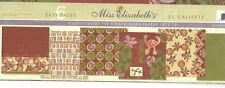 Miss Elizabeth's 12 x 12 Scrapbooking 6 Page Paper Set - EL CALIFATE