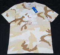 Adidas Camo training Tee shirt ED6953 100 % cotton-