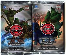 1 BOOSTER 9 Cartes KARTEN Cards CHAOTIC DAWN OF PERIM - SECRETS -