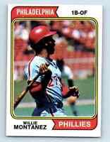 1974 Topps Willie Montanez . #515