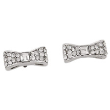Set Bow Stud Earrings Silver Authentic kate spade new york Ready