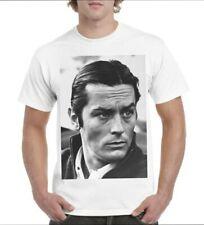 Tee-shirts 100% coton Alain Delon cinéma vintage tailles aux choix