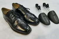 Todd Welsh Oxford Black lace Up Men's Dress Shoes 7163 US 10.5 M