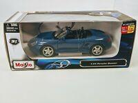 2010 New Maisto Special Edition 1:24 PORSCHE BOXSTER Blue
