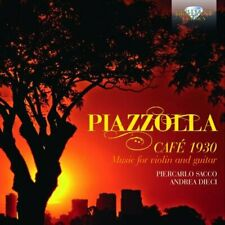 PIERCARLO SACCO ANDREA DIECI - PIAZZOLLA CAFE 1930 [CD]