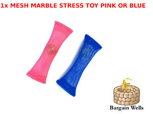 Sensory Fidget Toy Relief Kids Toys Mesh Stress Marble Adults Anxiety Soothing A