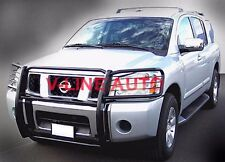 GRILL GUARD / BRUSH GUARD powder coat BLACK fits 2004-2014 Nissan TITAN / ARMADA