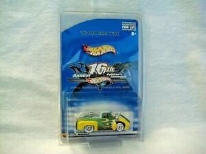Hot Wheels IRVINE CONVENTION RRWW Green/Yellow 56 FORD PANEL TRUCK only 2000