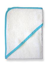 Betz Kinder Badetuch mit Kapuze Farbe weiß 77 x 80 cm