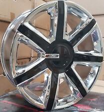 24 Wheels Cadillac Escalade Platinum Style Chrome Rims EXT ESV 22 26