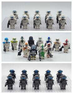 Star Wars Clone Commandos Squadron Custom Sets