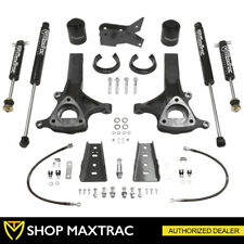"MaxTrac 6.5"" Front 4"" Rear Leveling Lift Kit + Shocks For 2009-2018 Ram 1500 2WD"