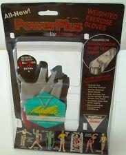 Cross Training Power Plus By Saranac Weights 1.2oz Included Gloves-Unisex Medium