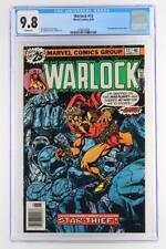 Warlock #13 -MINT- CGC 9.8 NM/MT - Marvel 1976 - 1st App of Star-Thief!!!