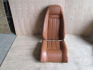 Bentley GT - 05   LH Rear Seat Cushions - Saddle # 3W3885323 / 3W3885511F