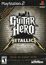 Guitar Hero: Metallica (2009) Brand New Factory Sealed USA Playstation 2 PS2