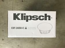Brand New Klipsch CDT-3650-C II In-Ceiling Speaker