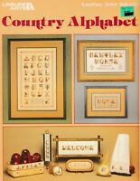 Country Alphabet Charted for Cross Stitch | Leisure Arts 344