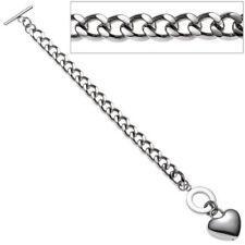 Liebe & Herzen-Modeschmuck-Armbänder aus Edelstahl ohne Stein