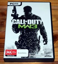 Call of Duty: Modern Warfare 3 PC Video Game (Complete in Box)