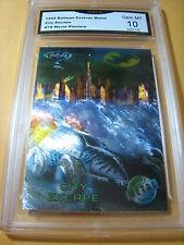 CITY ESCAPE BATMOBILE 1995 BATMAN FOREVER METAL MOVIE PREVIEW # 74 GRADED 10