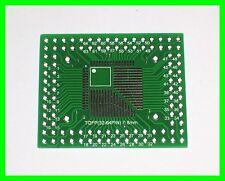 10pcs TQFP 44 TQFP 64 TQFP 80 SMD Adattatore PCB