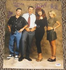 MARRIED WITH CHILDREN CAST SIGNED 11X14 PHOTO AUTHENTIC AUTOGRAPH O'NEILL PSA D