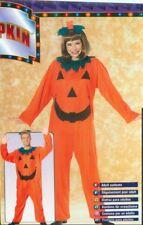 Orange Pumpkin PJ Costume Size Standard Size 12