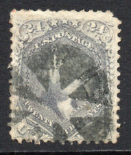 U.S.A. 24 Cent Stamp c1862-66 Used (3449)