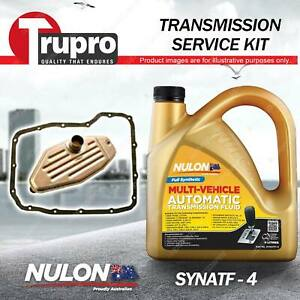 SYNATF Transmission Oil + Filter Service Kit for Jeep Grand Cherokee WJ WG WH WK