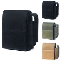 Tactical Molle Cigarettes Lighter Pouch EDC Utility Cigar Waist Pack Cover Case