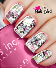 Nail Art Nail Decals Nail Transfers Natural/Acrylic Nail Wraps - DISNEY in PARIS