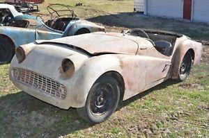 1958 1959 Triumph TR3A TS55430L True Barn Find No Title