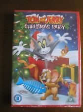Tom and Jerry's Christmas Party (DVD, 2010) in original wrapping
